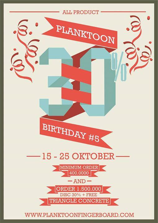 10710735 341113209410066 4884025465587697264 n PlanktOon   30% Birthday Sale