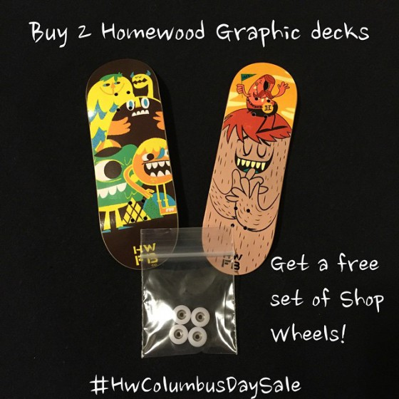 10724861 662105247243149 1898490401 n e1413257858377 Homewood   Columbus Day Sale
