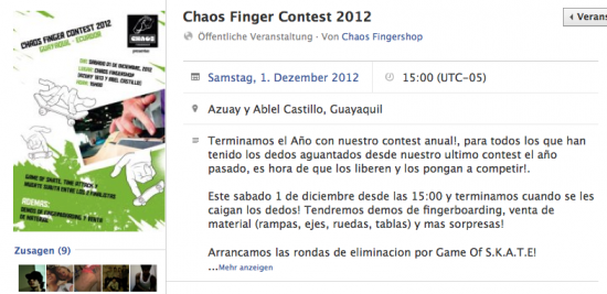 Bildschirmfoto 2012 11 19 um 17.13.59 e1353341683671 Chaos Finger 2012