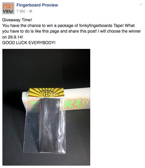 Bildschirmfoto 2014 09 15 um 16.38.41 Fingerboard ProView   Giveaway