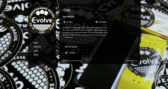Bildschirmfoto 2014 10 16 um 05.41.21 e1413431036707 Evolve   New Website